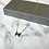 Thumbnail: H Gold Dainty Necklace