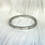 Thumbnail: Heart  Diamante Silver Bangle