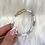 Thumbnail: White Checked Magnetic Bracelet