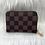Thumbnail: Brown Check Card Wallet