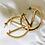 Thumbnail: V Hoop Earrings