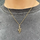 Thumbnail: Gold Snake Necklace