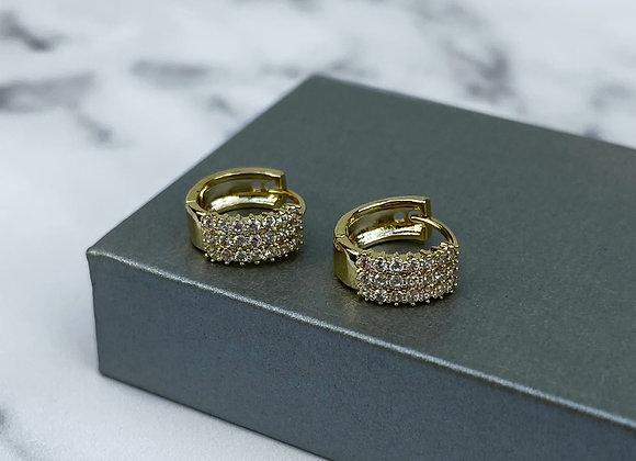 Sparkle Gold Huggies