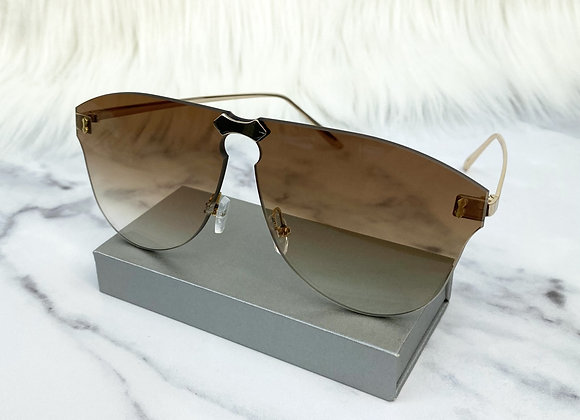 Ellie Brown Rimless Sunglasses