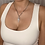 Thumbnail: Silver Round Cross Necklace