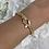 Thumbnail: ICE Gold Link Chain Bracelet