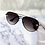 Thumbnail: Brown Aviator Bug Sunglasses