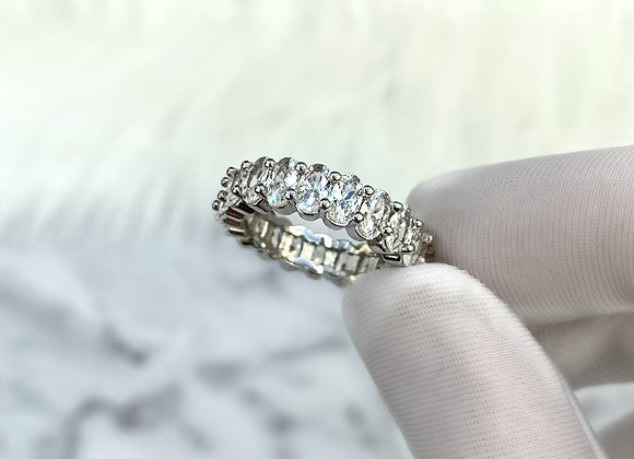 Sterling Silver Mya Ice Ring