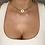 Thumbnail: Heart Diamante Pendant Choker