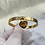 Thumbnail: 'Forever Love' Gold Plated Bangle