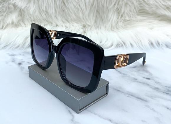 Sarah Black V Sunglasses