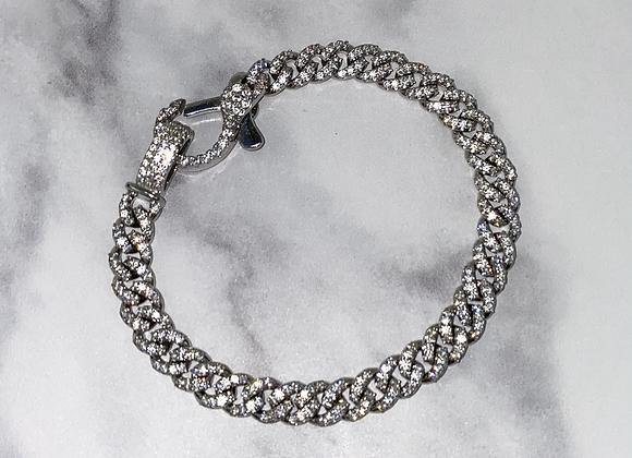 ICE Silver Link Chain Bracelet