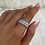 Thumbnail: Sterling Silver Miami Ice Ring