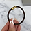 Thumbnail: Brown Checked Magnetic Bracelet