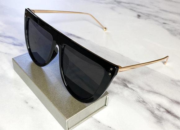 Yasmin Black & Gold Sunglasses