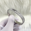 Thumbnail: Silver Full Stone Luxe Bangle