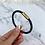 Thumbnail: Black Checked Magnetic Bracelet