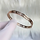 Thumbnail: Rose Gold Numeral Bracelet 5mm