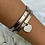 Thumbnail: 'Forever Love' Silver Plated Bangles