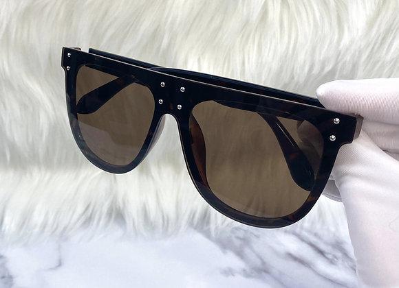 Brown Becky Sunglasses