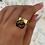 Thumbnail: Gold 'Forever Love' Charm Ring
