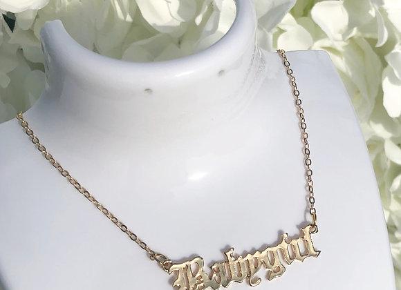 Babygirl Gold Necklace