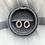Thumbnail: Gold Curve Stud Earrings