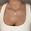 Thumbnail: Gold Shine Cross Necklace