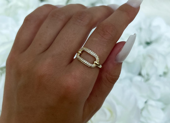 Shape Gold Ring