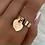 Thumbnail: Rose Gold 'Forever Love' Charm Ring