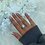 Thumbnail: Sterling Silver Tear Drop Ring