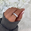Thumbnail: Sterling Silver Ayla Ice Ring