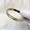 Thumbnail: Gold Full Stone Luxe Bangle