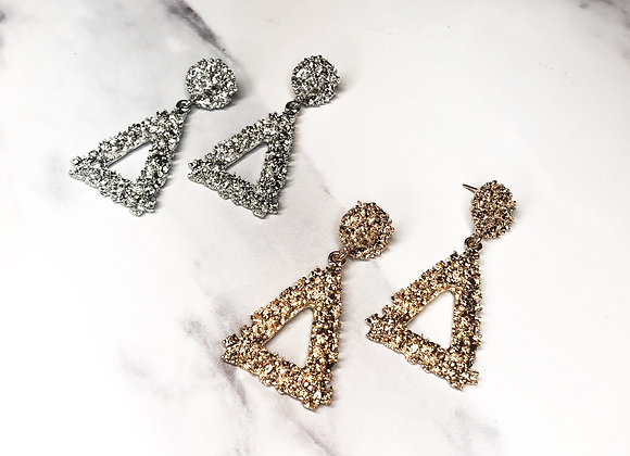Triangle Knocker Earrings