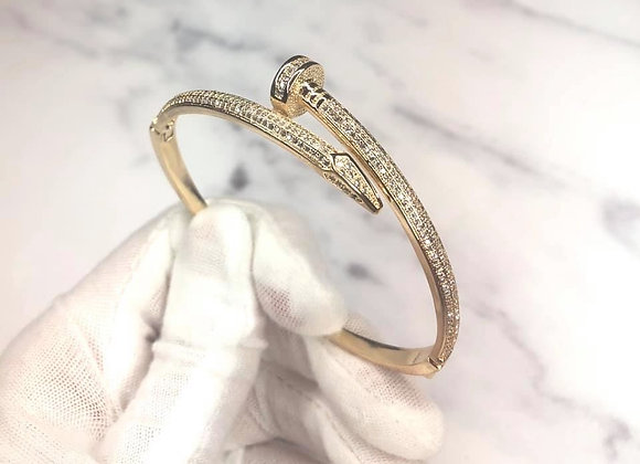 Gold Luxe Nail Bangle