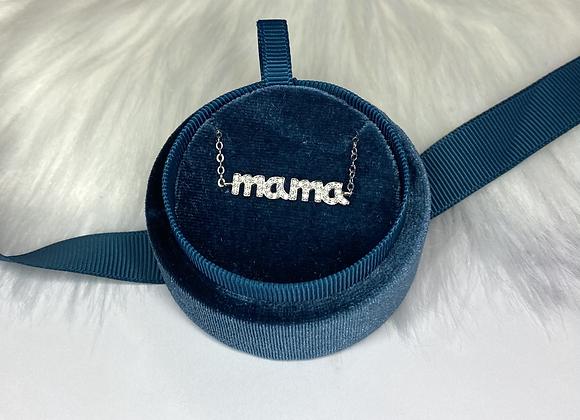 Luxury Navy Velvet Necklace Gift Box