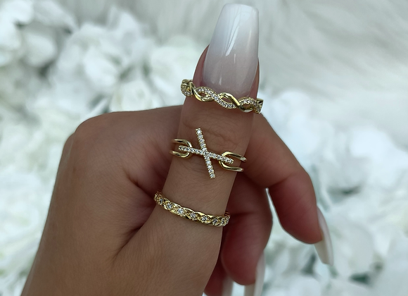 Dainty Stone Ring