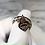 Thumbnail: Rose Gold Stone 'Forever Love' Charm Ring