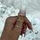 Thumbnail: Gold Cross Over Ring