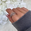 Thumbnail: Silver Plated Wrap Ring