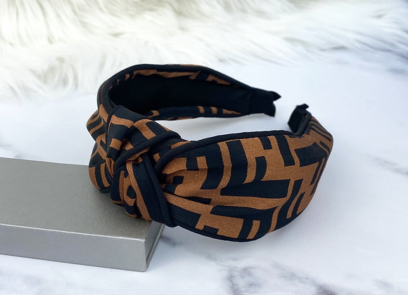 Silk Print Headband