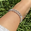 Thumbnail: Silver Link Diamante Anklet
