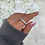 Thumbnail: Sterling Silver Tia Ice Ring