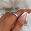Thumbnail: Numeral Diamante Silver Ring