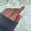 Thumbnail: Sterling Silver Twist Nail Ring