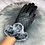 Thumbnail: Quilted Faux Fur Gloves