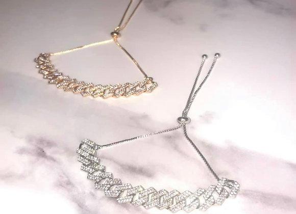 Link Diamante Anklet