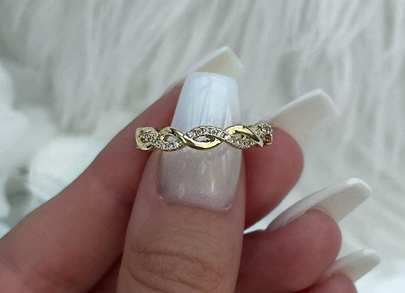 Plait Gold Ring