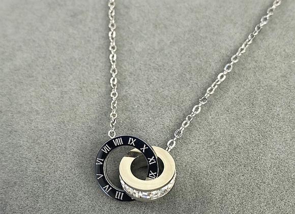 Silver Numeral Necklace