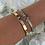 Thumbnail: Gold V Diamante Bracelet
